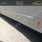 Накладки порогов Volkswagen Transporter T5