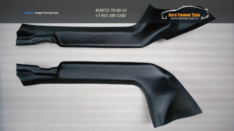 """Накладки на ковролин передних дверей """"KART RL NEW"""" для Renault Logan II NEW 2014- /арт.401"""