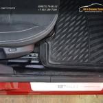 """Накладки на ковролин передних дверей """"KART RL NEW"""" для Renault Logan II NEW 2014-"""