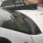 Жабо, накладка в проем дворников Renault Duster 2010- или Nissan Terrano 2014-