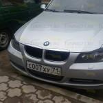 2005 - 2011 BMW Е90 Реснички ABS пластик Накладки на фары 2 шт.