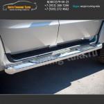 d76 - вариант 1 Пороги/подножки УАЗ Патриот