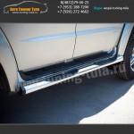 d76 - вариант 2 Пороги/подножки УАЗ Патриот