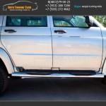 d76 - вариант 3 Пороги/подножки УАЗ Патриот