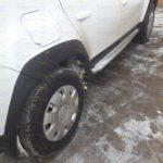 Накладки арок колес+молдинги дверей Renault Duster 2016-