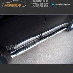Пороги/Подножки d120x60 Тойота LC 200