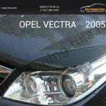 Накладки на фары / Реснички Opel VECTRA С 2005 +
