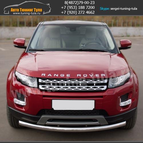 Защита бампера Range Rover Evoque Pure и Prestige/арт.460