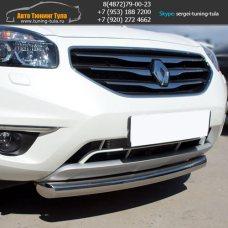 Защита переднего бампера Рено Колеос / KOLEOS 2012/ арт.455