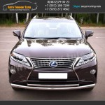 Защита переднего бампера  на Lexus RX III с 2012 г./арт.439