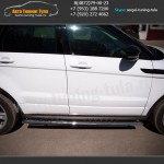 Обвес/Пороги, защита бампера Range Rover Evoque Dinamic