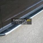 Подножки/Пороги алюминиевые SsangYong Kyron
