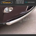 Защита переднего бампера  d63 Lexus RX III с 2012 г.