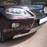 Защита бампера d75/42(двойная) Lexus RX III с 2012 г.в.