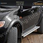Расширители арок + 50 мм/АБС-пластик/ Митсубиси L 200 2007+