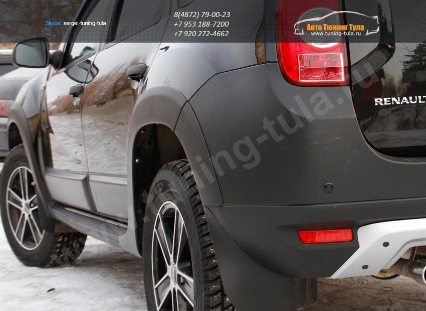 RMRD-007102 Расширители колесных арок +молдинги на двери РА Renault Duster/арт.60