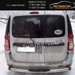 Защита бампера Sport d70 Логан Универсал MPV/Лада Ларгус
