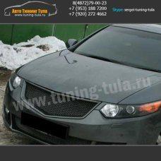 Ресницы / Накладки на фары Хонда Аккорд 8  2008+ 2011+ / арт.473