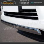 Защита переднего бампера d75x42 овал LEXUS LX570 с 2012г