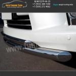 Защита переднего бампера d76/42 LEXUS LX570 с 2012г.в.