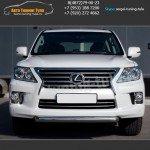 Защита переднего бампера d76 LEXUS LX570 с 2012г