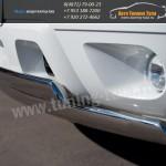 Защита бампера d75x42x2 овал Шевроле Тахо/TAHOE 2012