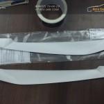 Накладки фар(реснички) узкие - ПВХ-пластик БМВ X5 E70 2007-