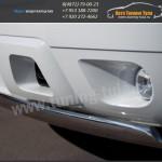 Защита бампера d75x42 овал Шевроле Тахо / TAHOE 2012