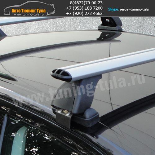 Багажник Рено Логан/Lux с аэродинамическими дугами/ арт.513