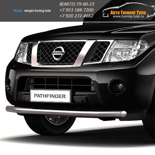 Защита бампера d63  Nissan PATHFINDER/арт.558-3