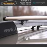Багажник на крышу Рено Сандеро/Рейлинги+поперечины