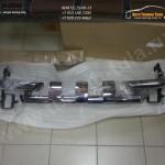 Защита переднего бампера d63 с зубьями КИА Спортаж 3/Sportage R/