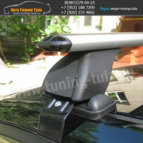 Багажник Хэнде Солярис/Lux с аэродинамическими дугами/ арт.524