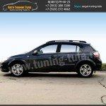 Рейлинги Опель Астра Н 5дв./Opel Astra h/Багажник+поперечины