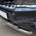 Защита переднего бампера d63/42 Subaru Forester/Форесте