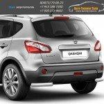 Защита бампера d63 уголки Nissan QASHQAI