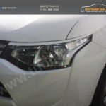 Накладки фар - Реснички Mitsubishi Outlander III 2012-