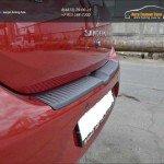 """Защита заднего бампера №4 """"KART RS NEW"""" для Рено Сандеро 2014+"""