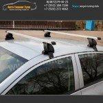 Багажник Хэнде Солярис/Lux с прямоугольными дугами
