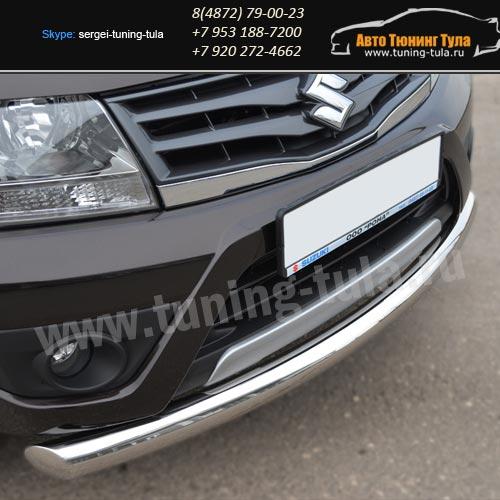 Защита бампера d76 – одинарная Suzuki Grand Vitara с 2012+ /арт.608-6