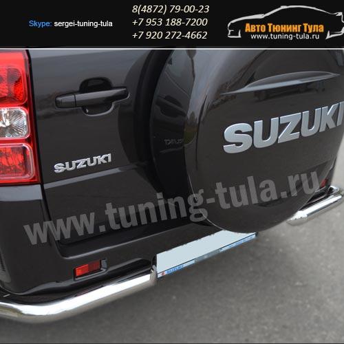 Защита бампера d63-уголки  Suzuki Grand Vitara с 2012+ /арт.608-8