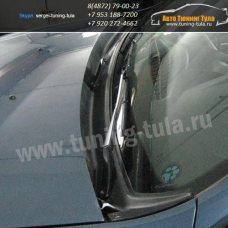 Накладка/Жабо/ KART Рено Дастер/Renault Duster 2010-2014, 2016-/ Ниссан Террано 2014- арт.584