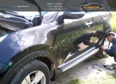 WB16129902 Пороги Mobis/оригинал/ KIA Sportage 3/ R BMW-Style/арт.248