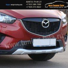 Накладки бамперов/Обвес Minagi Mazda CX-5 2012+  2015+/арт.581