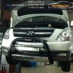 Защита переднего бампера Harran Хенде H1/Hyundai H1