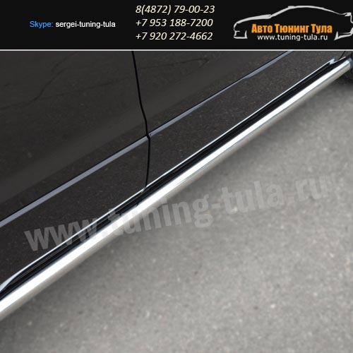Защита/Пороги d63 вар.2 Suzuki Grand Vitara с 2012+ / арт.608-2