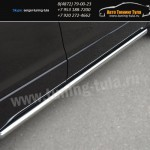 Защита/Пороги d63 вар.1 Suzuki Grand Vitara с 2012+