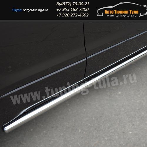 Защита/Пороги d63 вар.3 Suzuki Grand Vitara с 2012+ / арт.608-3