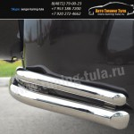 Защита бампера d63/42-уголки  Suzuki Grand Vitara с 2012+