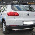 Защита задняя труба d57 VW Tiguan/Тигуан 2011г